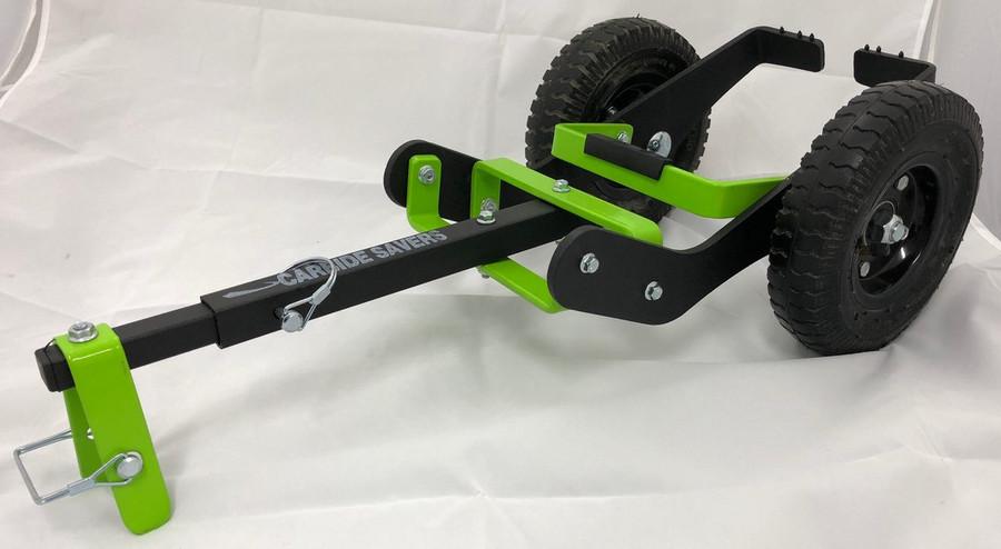 Arctic Cat Stock Ski Carbide Savers Green & Black