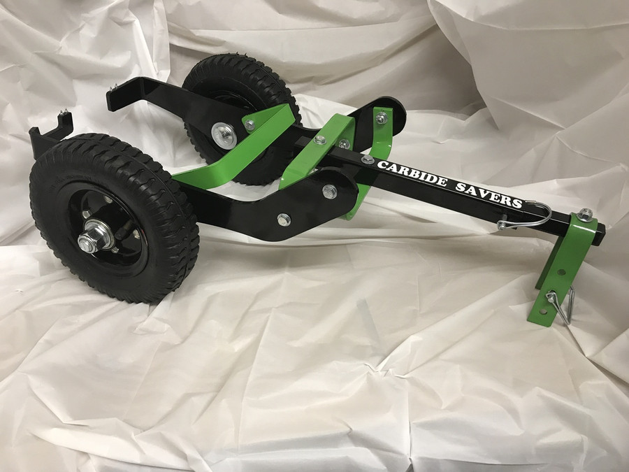 """6"""" - 7.5"""" BLACK SIDES WITH GREEN INSIDES."""