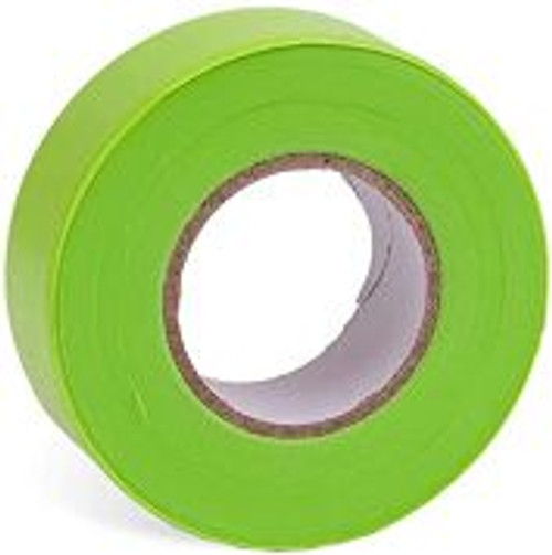 FLAGGING TAPE LIME GLO