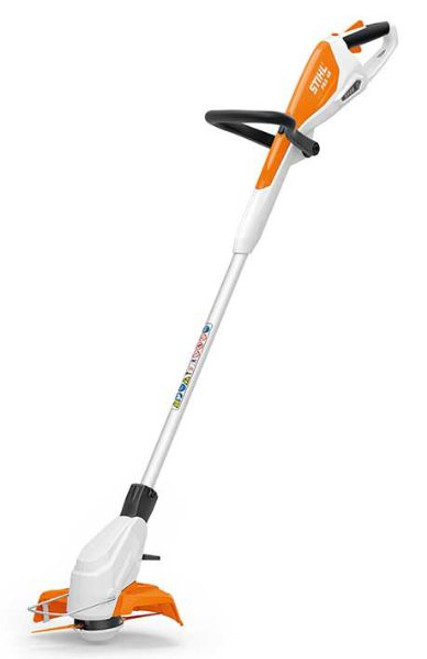 CORDLESS TRIMMER, CURVED SHAFT