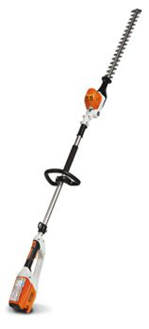Extended Reach Battery Hedge Trimmer
