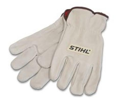 Stihl leather work gloves