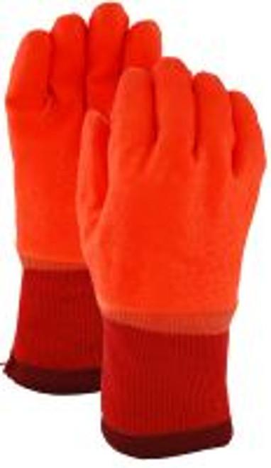 Gloves, Hi Viz pvc storm cuff - BS