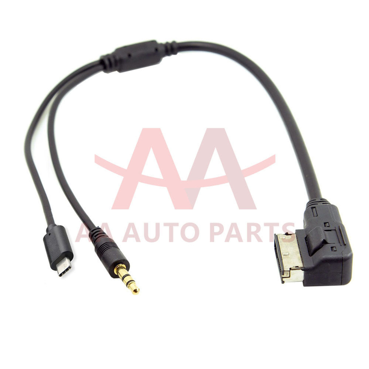 cc9cb07ec27 Audi Volkswagen AMI MMI MDI MEDIA-IN Interface to Type C USB Aux Adapter  Cable