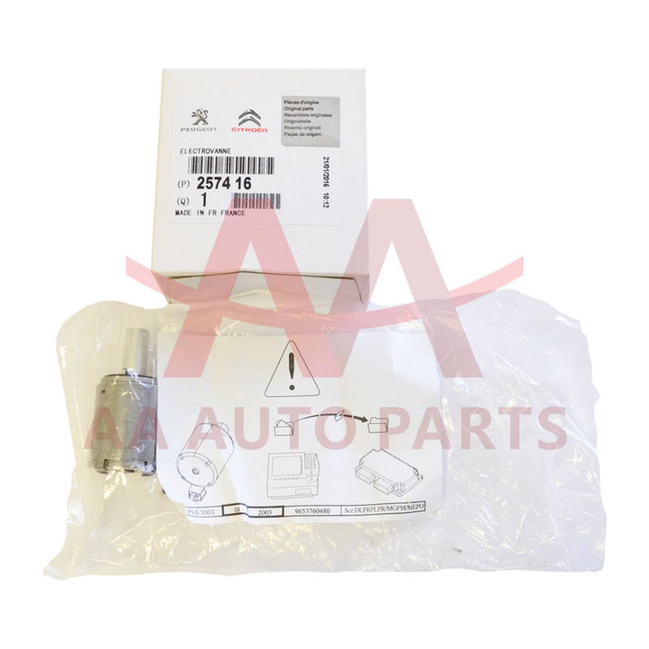 AL4 DPO 257416 EPC Solenoid Valve for Citroen Peugeot Renault Auto  Transmission