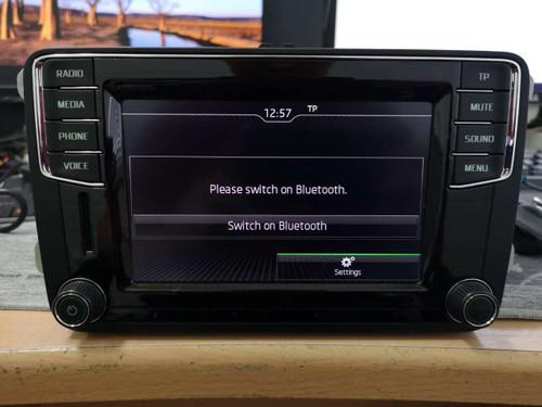 Skoda MIB2 Carplay Android Auto Bluetooth system