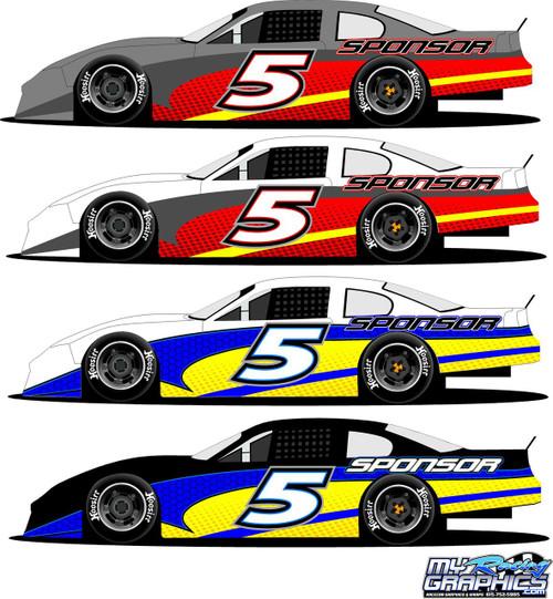 Racing Half wrap 5