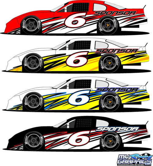 Race Car Graphics - Decals - Wraps - Vinyl Racing Graphics