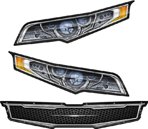 Headlight Decal Package