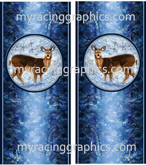 Winter Deer Truck Bed Bands