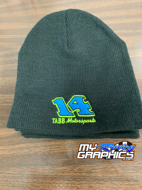 14 Tabb Motorsports Embroidered Beanies