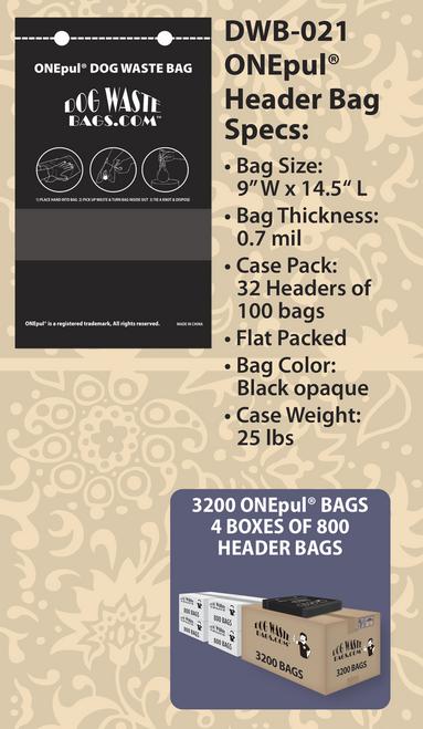 ONEpul® Header Bags – DWB-021