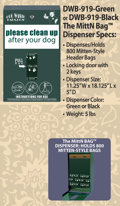 The MittN Bag™ Dispenser – DWB-919