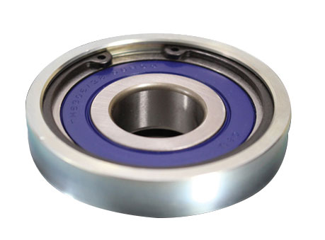 Replaceable Pulley Bearing