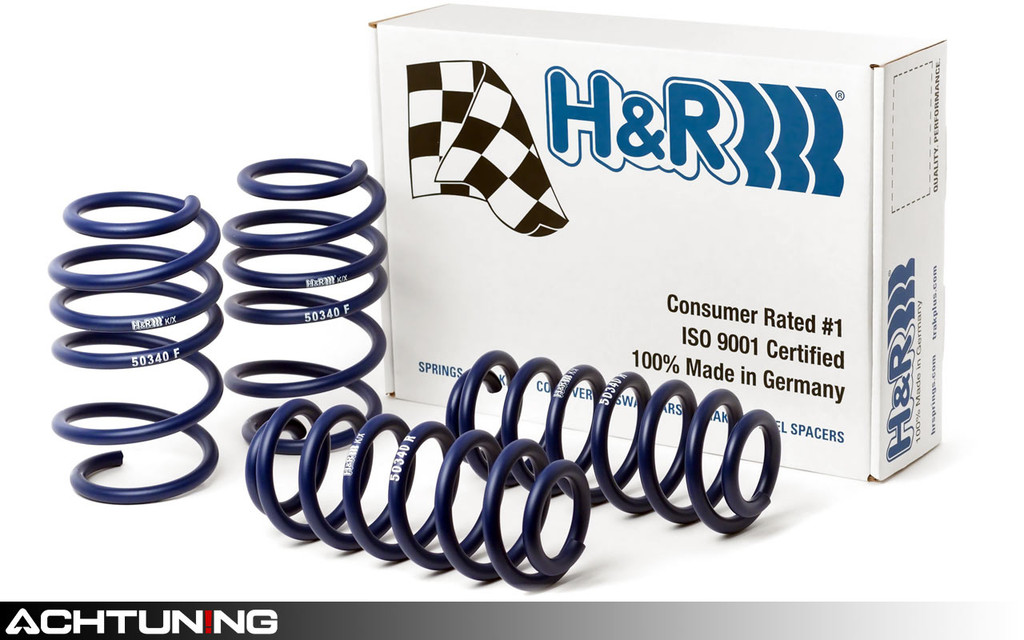 H&R 50340 Sport Springs Audi 8V A3 Sedan Quattro
