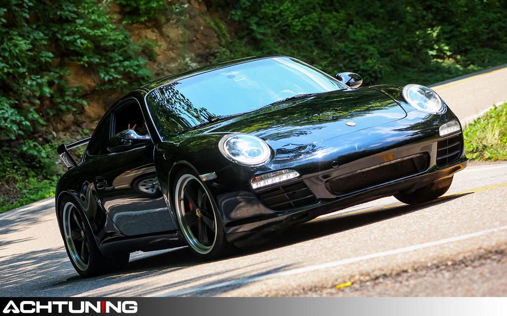 Hartmann HPO-310-SB:ML 19x8.5 ET48 wheels on Porsche 997