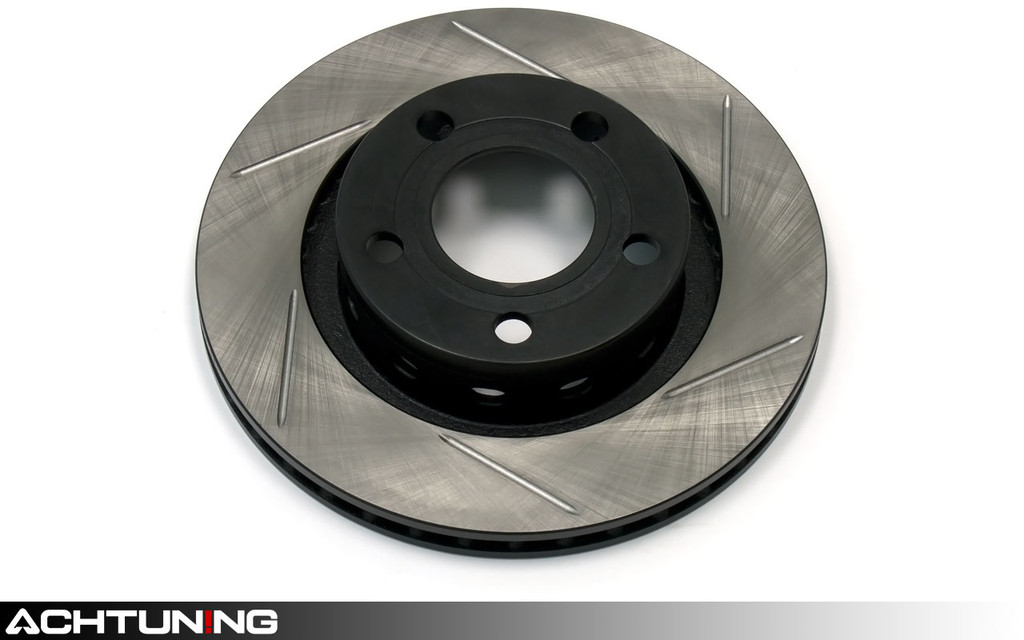 StopTech 126.33069SL 256mm Slotted Left Rear Rotor Audi and Volkswagen