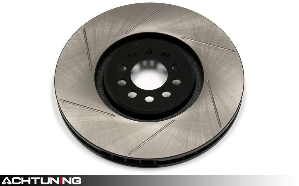 StopTech 126.33091SR 350mm Slotted Right Front Rotor Audi and Volkswagen