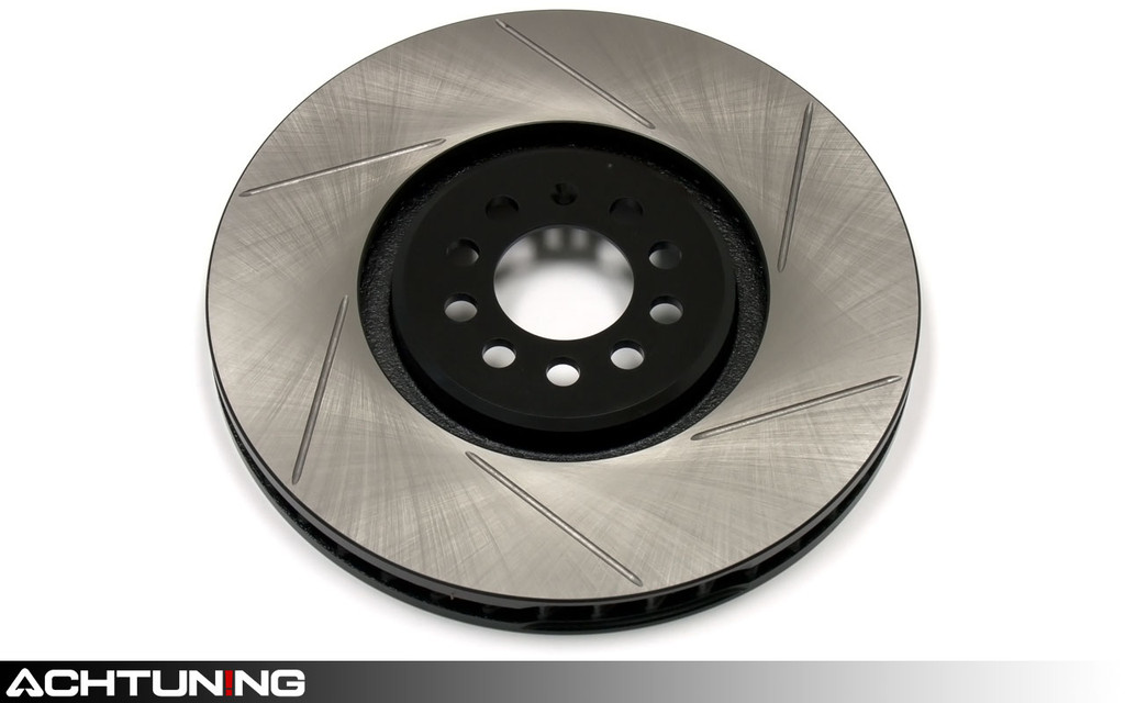 StopTech 126.33094SL 334mm Slotted Left Front Rotor Audi and Volkswagen