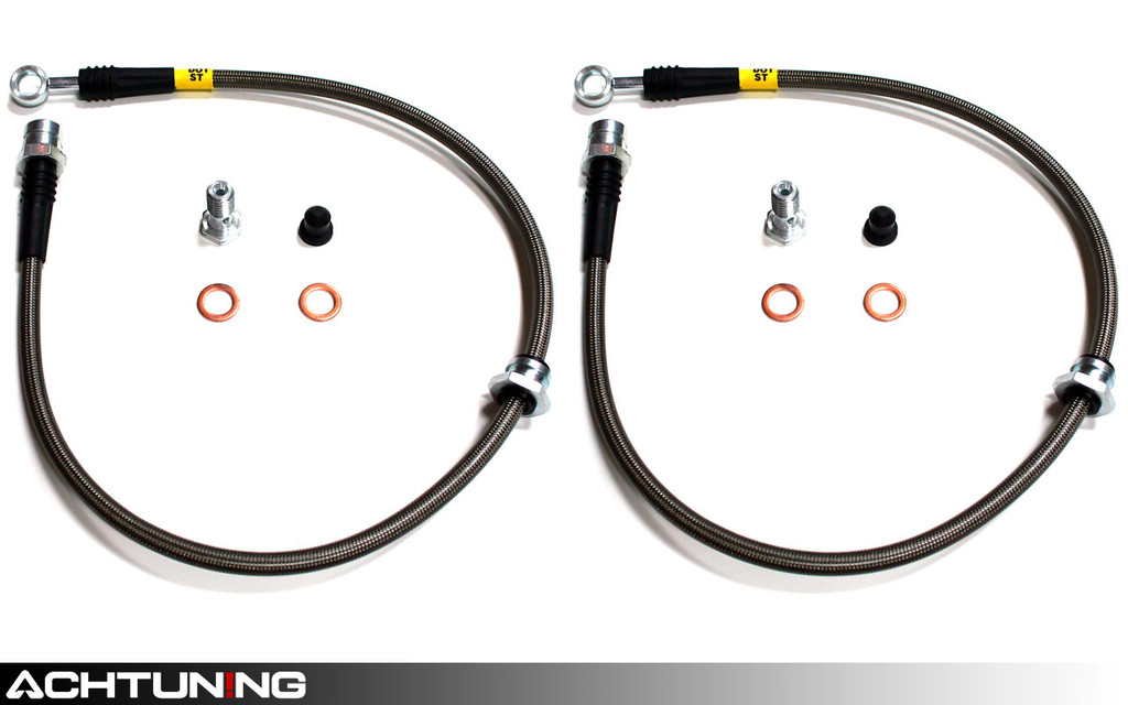 StopTech 950.33015 Stainless Steel Front Brake Lines Audi and Volkswagen