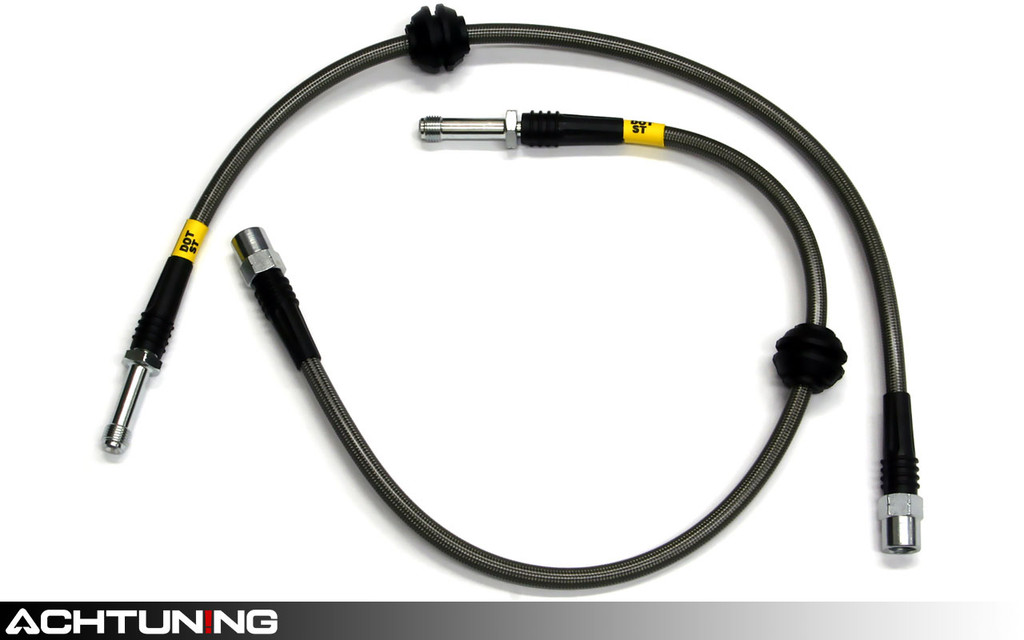 StopTech 950.33016 Stainless Steel Front Brake Lines Audi B8