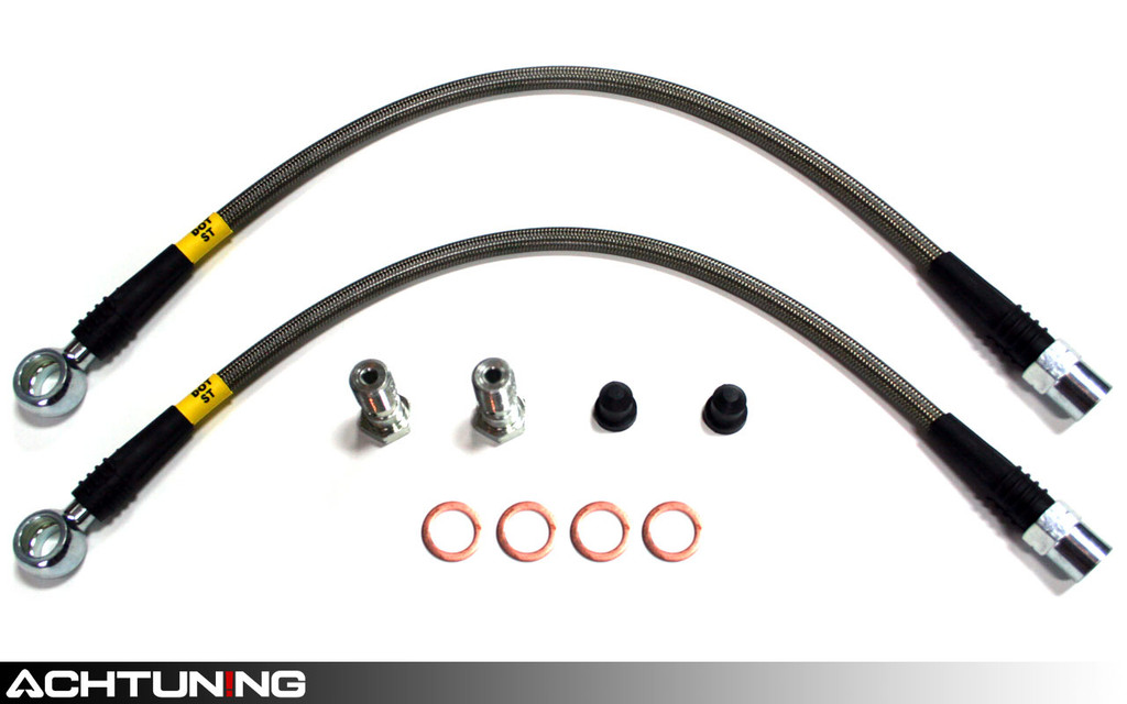 StopTech 950.33503 Stainless Steel Rear Brake Lines Audi C5 A6 and S6
