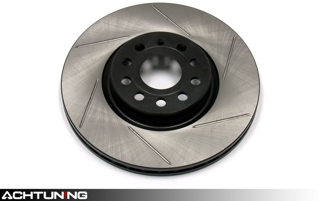 StopTech 126.33077SL 320mm Slotted Left Front Rotor Volkswagen B5 Passat W8