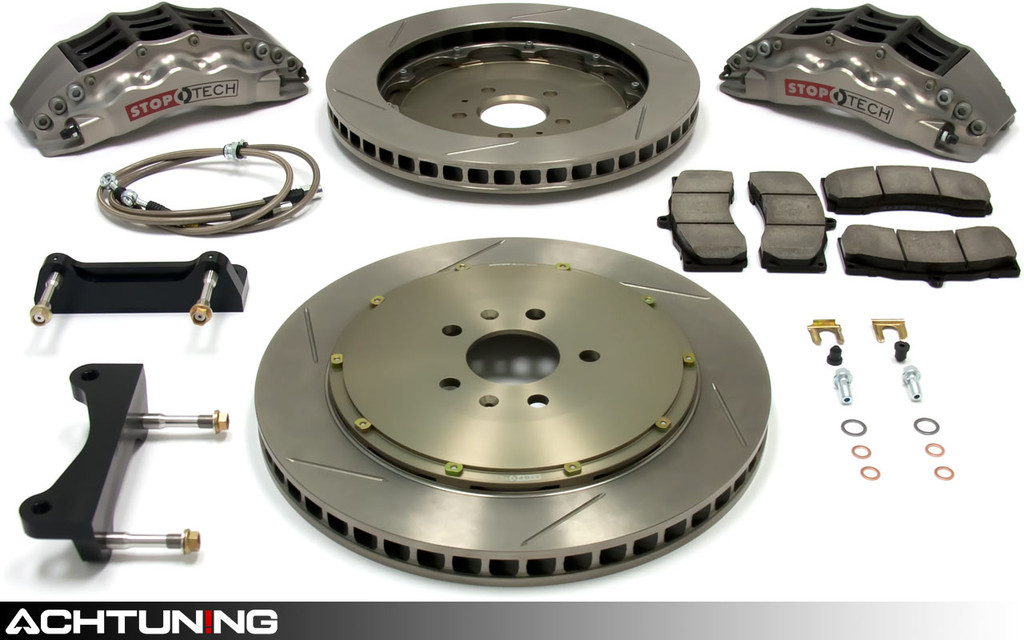 StopTech 83.895.4700.R 355mm STR-40 Trophy Big Brake Kit VW Mk7 GTI