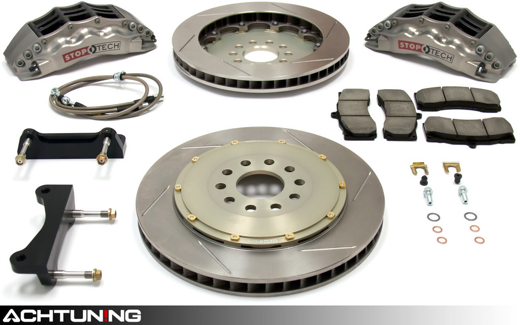 StopTech 83.114.6700.R 355mm STR-60 Trophy Big Brake Kit Audi B8 S4 and S5