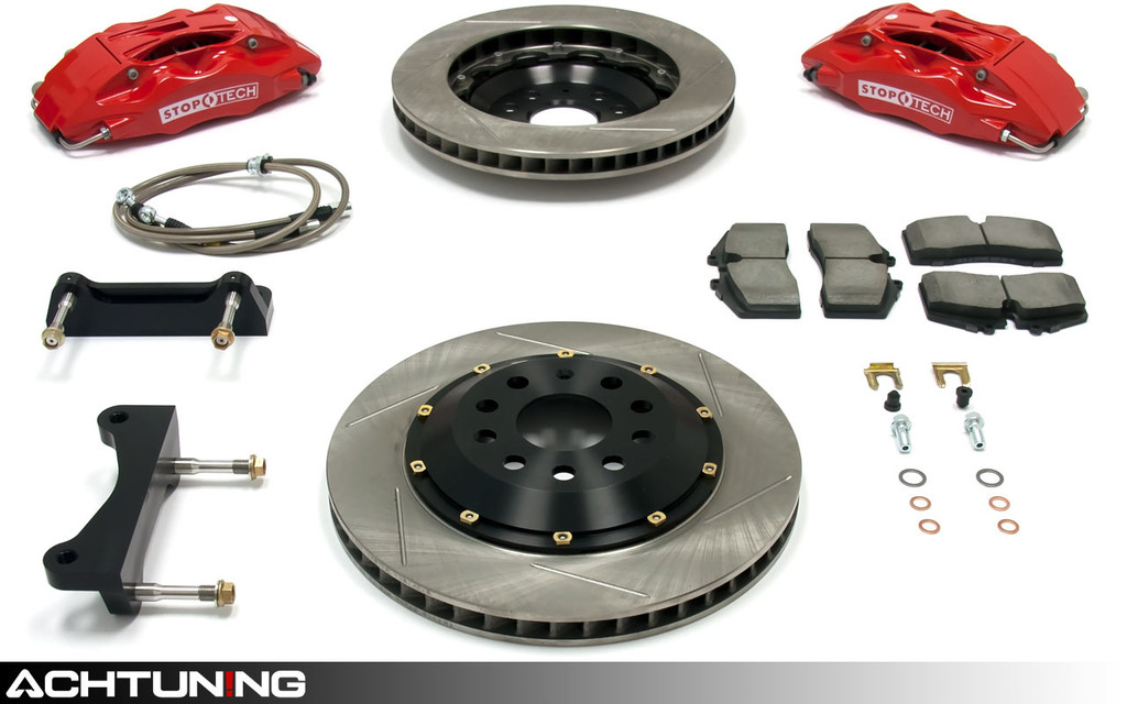 StopTech 83.895.4300 328mm ST-40 Big Brake Kit Audi and Volkswagen