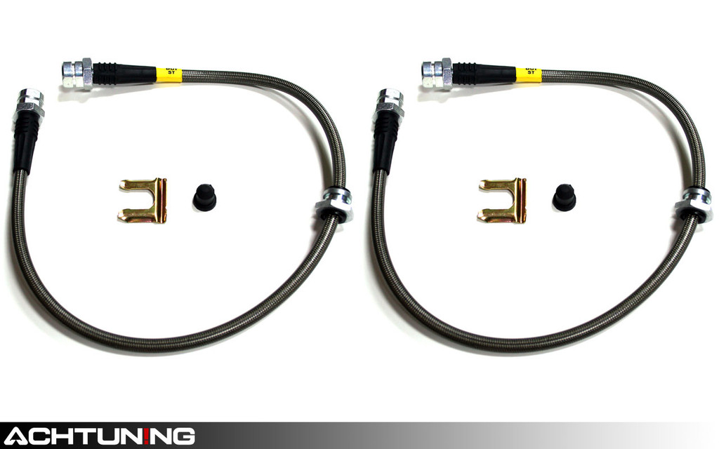 StopTech 950.33026 Stainless Steel Front Brake Lines Audi Volkswagen