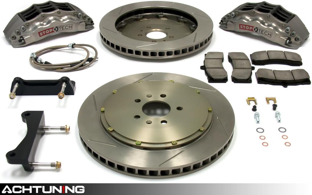 StopTech 83.112.4700.R 355mm STR-40 Trophy Big Brake Kit Audi B7 A4