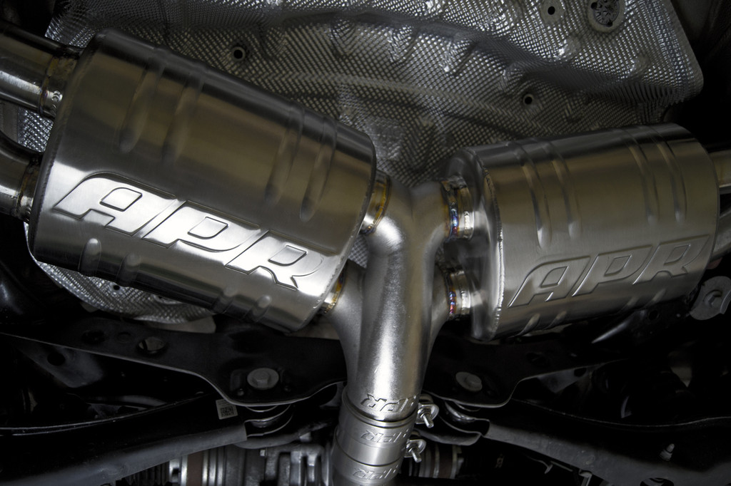 APR CBK0003 Catback Quad Tip Exhaust for Audi 8V S3