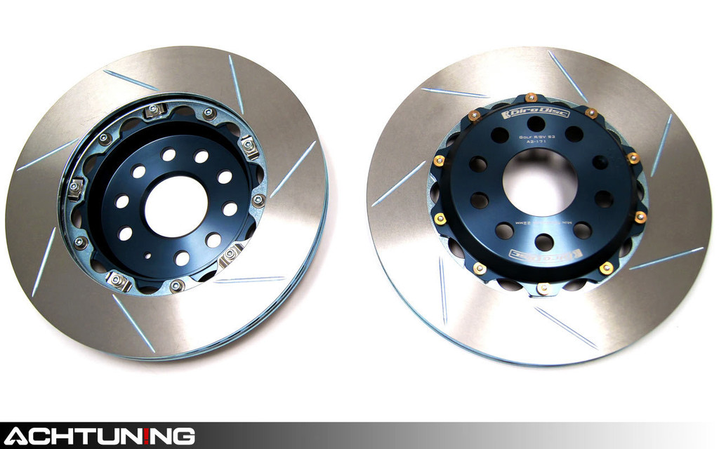 Girodisc A2-152 Rear Brake Rotor Pair Audi Mk2 TT RS