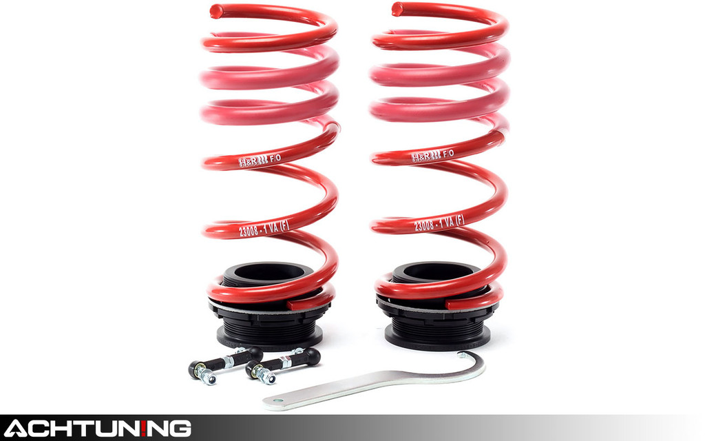 H&R 23008-1 VTF Adjustable Springs BMW F15 X5 F85 X5 M F16 X6 and F86 X6 M