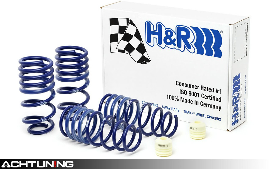 H&R 28880-1 Sport Springs Porsche 991 Carrera