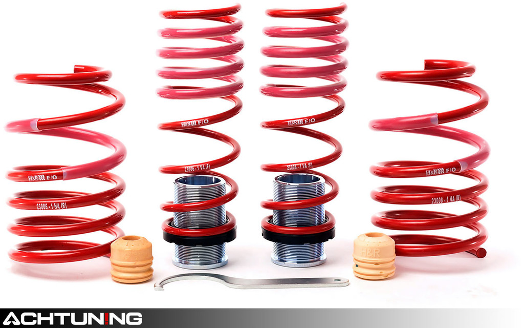 H&R 23006-1 VTF Adjustable Springs Porsche 981 and 982 Boxster and Cayman