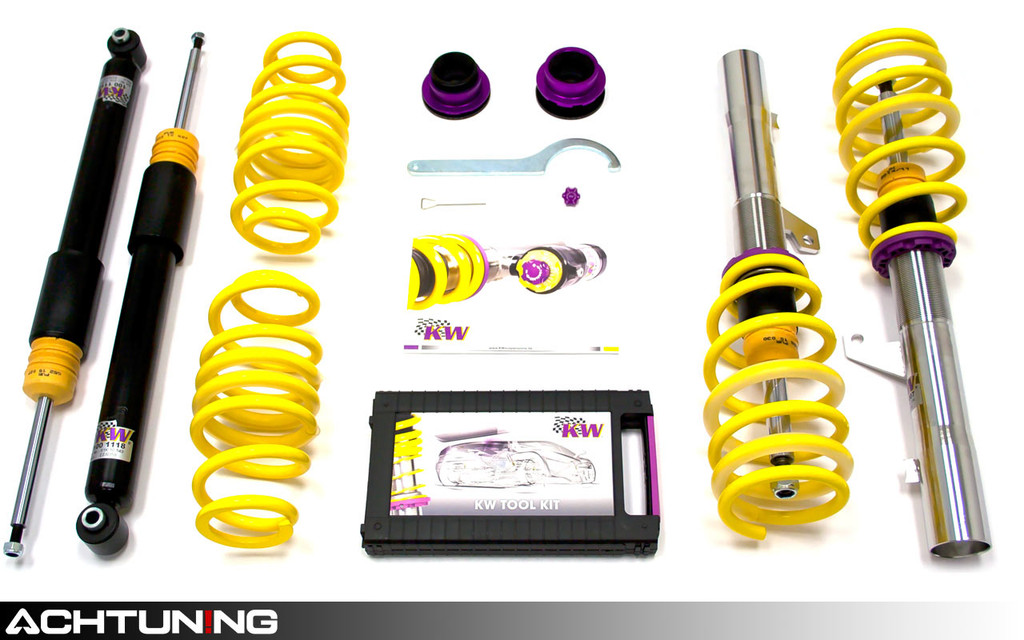 KW 15210028 V2 Coilover Kit Audi B6 and B7 A4 Sedan FWD