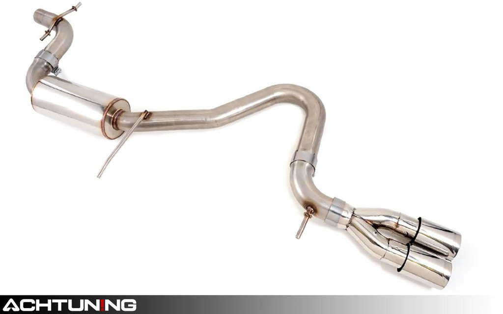 AWE Tuning 3015-22030 Catback Twin Tip Performance Exhaust VW Mk6 Jetta TDI