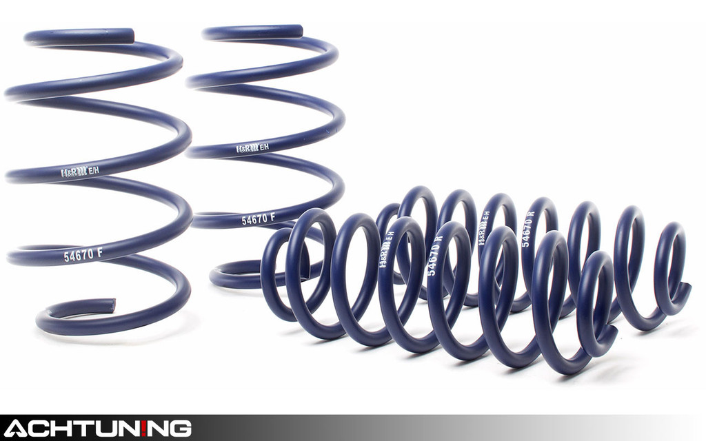 H&R 29122-3 Sport Springs Lexus IS250 AWD