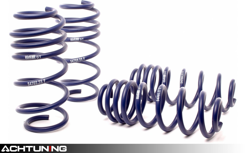 H&R 54760-55 OE Sport Springs Volkswagen B6 and B7 Passat FWD