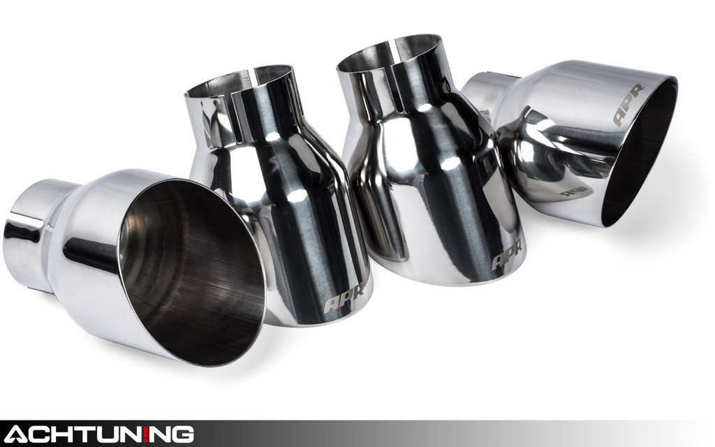 APR TPK0004 Slash-Cut Single-Walled 4 Inch Exhaust Tips