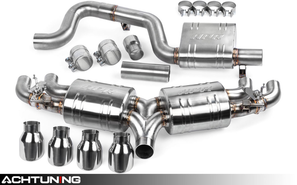 APR CBK0021 Catback Quad Tip Exhaust Volkswagen Mk7 Golf R