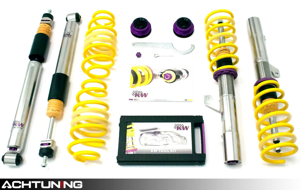 KW 352100BJ V3 Coilover Kit Audi B9 A4 and A5 Quattro and S4 EDC