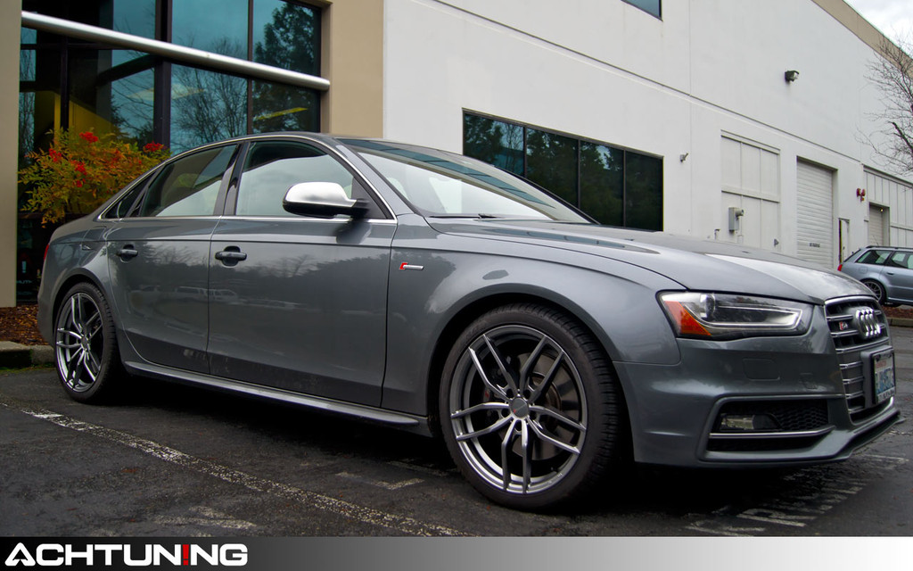 Hartmann FF-003-CG 19x8.5 ET38 Wheel on Audi B8.5 S4