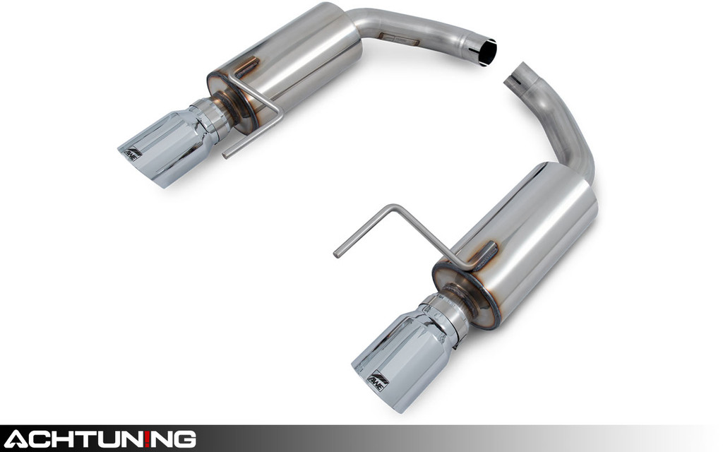 AWE Tuning 3015-32086 Axleback Dual Tip Touring Exhaust Ford Mustang Ecoboost
