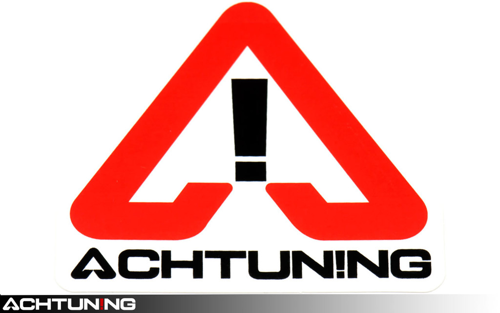 Achtuning Multi Color Sticker