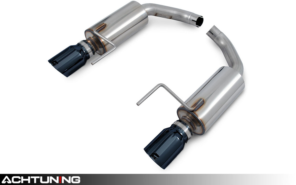 AWE Tuning 3015-33086 Axleback Dual Tip Touring Exhaust Ford Mustang Ecoboost