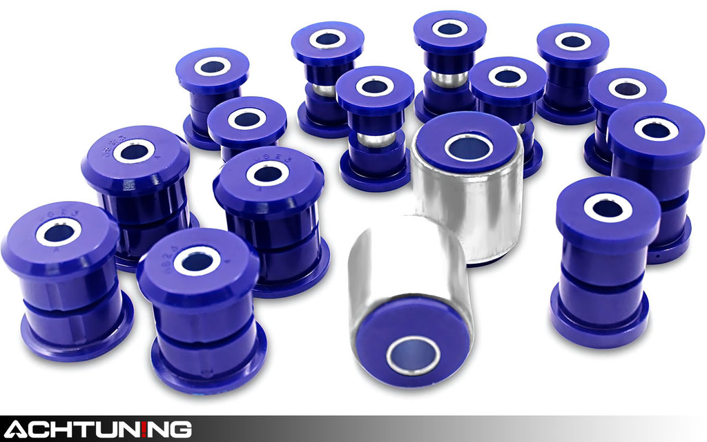 SuperPro KIT081K Front and Rear Control arm and Trailing Arm Double Offset Bushing Kit Hyundai Tiburon