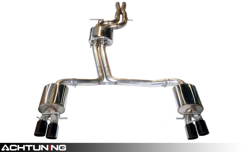 AWE Tuning 3015-42026 Catback Quad Tip Touring Exhaust Audi B8 S5 4.2L